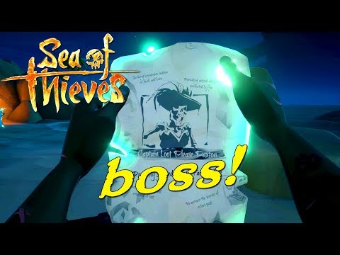 CAPTAIN LOOT PLEASE PAXTON BOSS! - Sea of Thieves Dansk Ep 3 feat. Den Mandige Elg og Vercinger