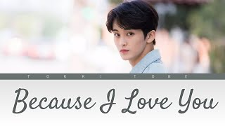 Mark Lee (NCT) - Because I Love You (사랑하기 때문에) Cover song Lirik Terjemahan (Han/Rom/SubIndo)