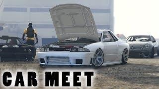 INSANE DRIFT SETUPS GTA 5 ONLINE CAR MEET