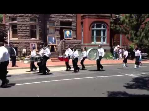 United House of Prayer Memorial Day Parade 2013 clip 2