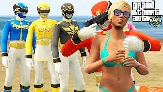 "Video GTA 5 Mods ""POWER RANGERS MOD"" (GTA 5 Power Rangers, Rangers Movie Mod, Funny Moments Compilation) download MP3, 3GP, MP4, WEBM, AVI, FLV Agustus 2018"