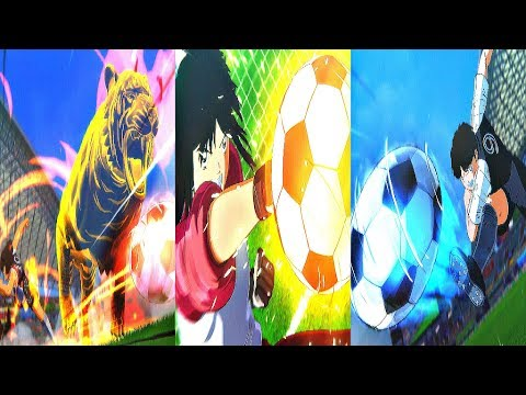 Captain Tsubasa: Rise of New Champions - ALL SPECIAL SHOTS (So Far)