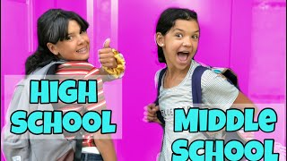 HIGH SCHOOL routine vs Middle SCHOOL!