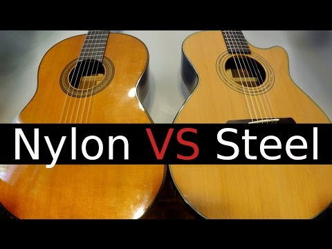 Nylon String vs Steel String Guitar! - Which One Should You buy?