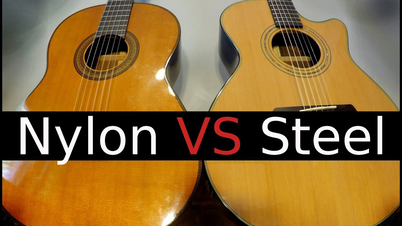 Guitar metal vs nylon strings