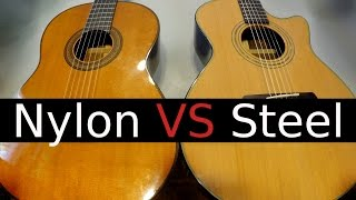 Nylon String vs Steel String Guitar! - Which One Should You ...