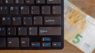 5 euro Action Toetsenbord - Maxxter Keyboard - Mooi of Zooi