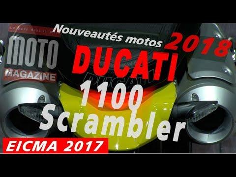 Ducati scrambler 1100 evo 2018 une moto 3 versions for Salon de milan moto 2018