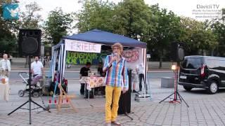 8. Friedensmahnwache in Wien: David's Moderation (16.6.2014)