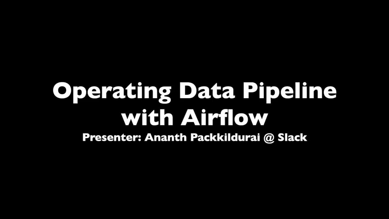 Operating data pipeline using Airflow @ Slack – The Fifth