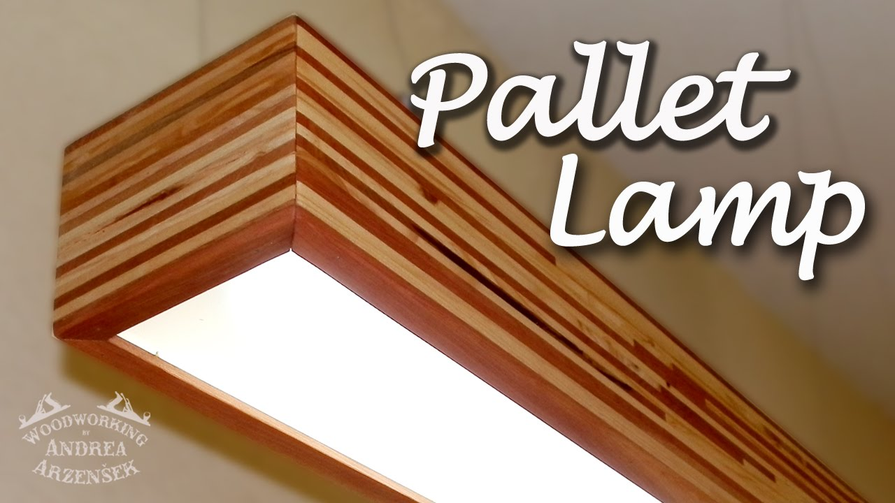 Pallet LED Lamp (Pallet Challenge) - Ep 034 - YouTube