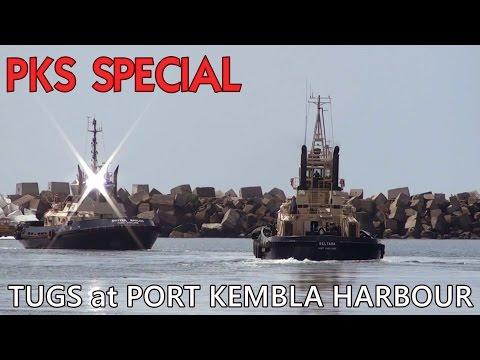 Tugs at Port Kembla Harbour (PKS Special)