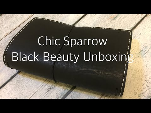 Chic Sparrow Black Beauty Unboxing