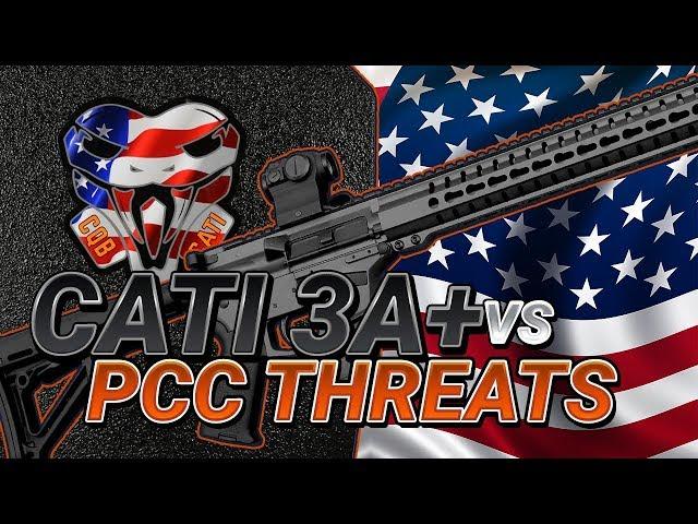CATI 3A+ Armor vs Pistol Caliber Carbines