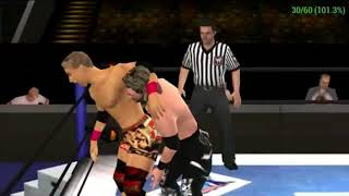 Kenny Omega vs. Kazuchika Okada WWE 2K18 Battle of the Brands PSP gameplay