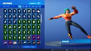 "Skin ""AVE SOLAR"" Dancing 95 Gestures - Fortnite"