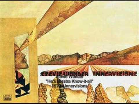 Stevie Wonder - He's Misstra Know-it-all