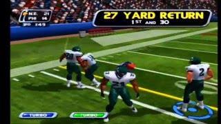 NFL Blitz 2002 Eagles vs Patriots