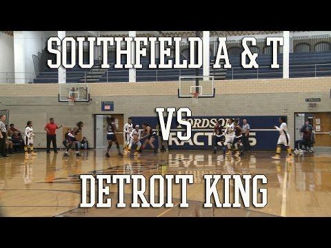 Basketball: Southfield A & T vs Detroit King Regional Championship
