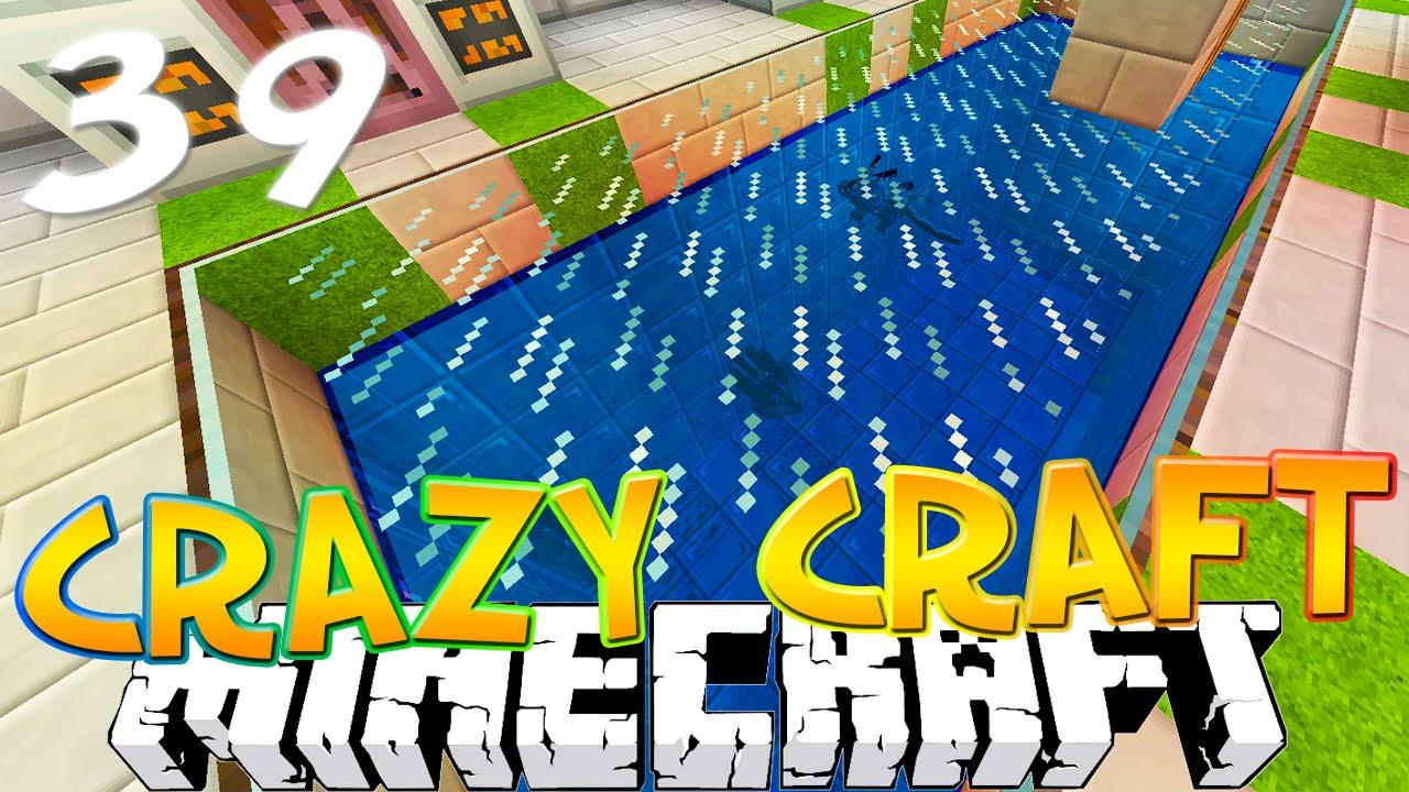 Minecraft crazy craft 3 0 39 quot new aquarium quot crazy craft smp