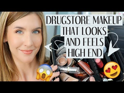 Drugstore Makeup That LOOKS & FEELS Luxury | Best Drugstore Makeup 2019