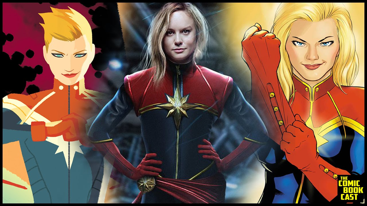 brie larson talks captain marvel being a woman symbol of hope - youtube