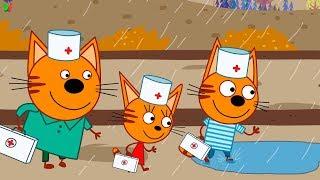 Три Кота Доктор #1 Детский Врач Мульт игра для детей