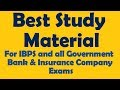 Best Study Material for  Banking and Insurance Exams