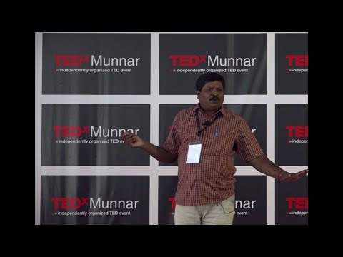 'Tree' is life | Yoganathan M | TEDxMunnar