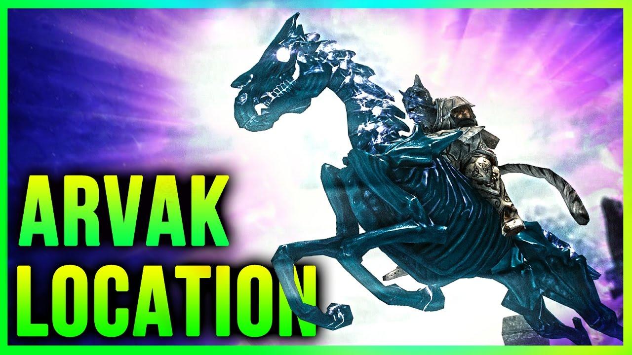 Skyrim How to get ARVAK Location – Dawnguard Secrets Horse Quest on