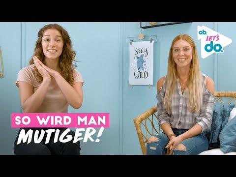 LauraJoelle & BarbaraSofie reden über Mut | o.b.® Let's do.