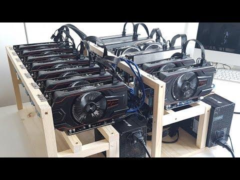 13 GPU Mining Rig Update - 192 Mh/s @ 1075W - Asrock H110 Pro Btc+ & RX560
