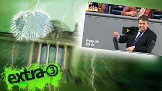 Neulich im Bundestag: Stromraub und Stromköpfe