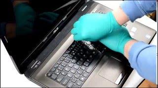 Výmena klávesnice na notebooku ASUS www.klavesnica.sk