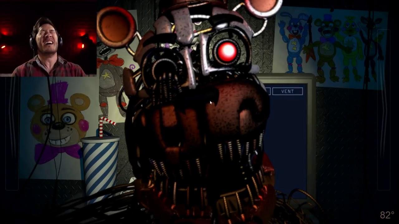 Five Night at Freddy's - Pizzeria Simulator Markiplier Jumpscares (FNAF 6  Jumpscares)