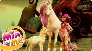 Mia and me - Temporada 1 Episódio 5 - Unicórnio Dourado (Clipe1)