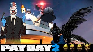 PayDay2 - Yacht Heist! - Let'sPlay - [OneDown Solo Stealth]