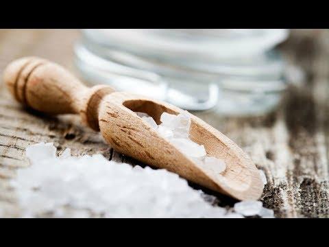 Как сделать 10 процентный солевой раствор