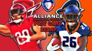 Alliance Of American Football San Antonio Commanders vs Orlando Apollos Post Game Recap