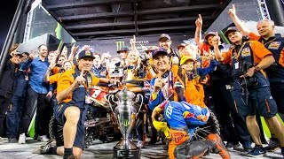 DUNGEY WINS FOURTH 450SX SUPERCROSS TITLE | KTM