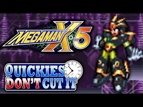 Mega Man X5 Review - Quickies Don't Cut It