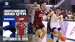 ADMU vs. UP - September 29, 2019   2nd Quarter Highlights   UAAP 82 MB