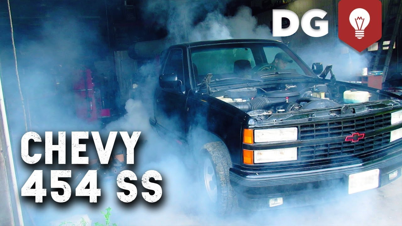 The '91 Chevy 454 SS Gets A New Engine (Still Does Burnouts)