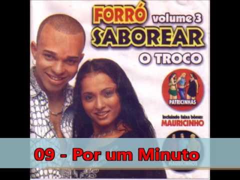 Forró Saborear - Volume 3 - CD COMPLETO (Forró das Antigas) - 2003