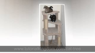 [watch] Cat Condo Diy Plans - Build Your Own Cat Tree!