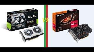 Nvidia Geforce GTX 1050 TI vs AMD Radeon RX 560 Unboxing/Spec/Benchmark/Bitcoin Nice Hash Mining