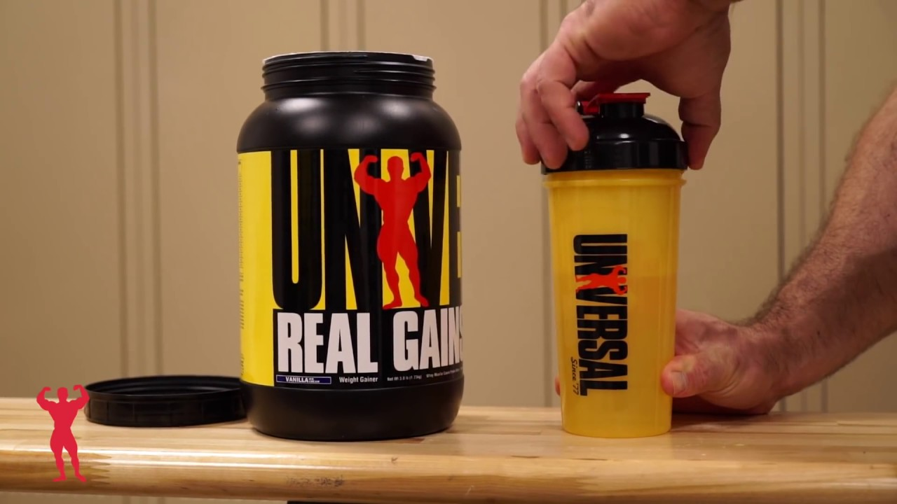 Real Gains Universal Nutrition I Goprot.com - YouTube