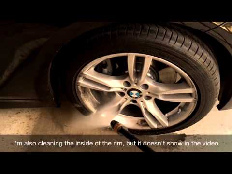 How to Power Wash BMW Rims