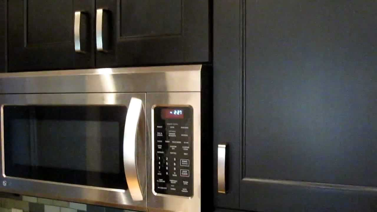Ikea Kitchen Black Ramsjo Cabinets With Fastedge Edge