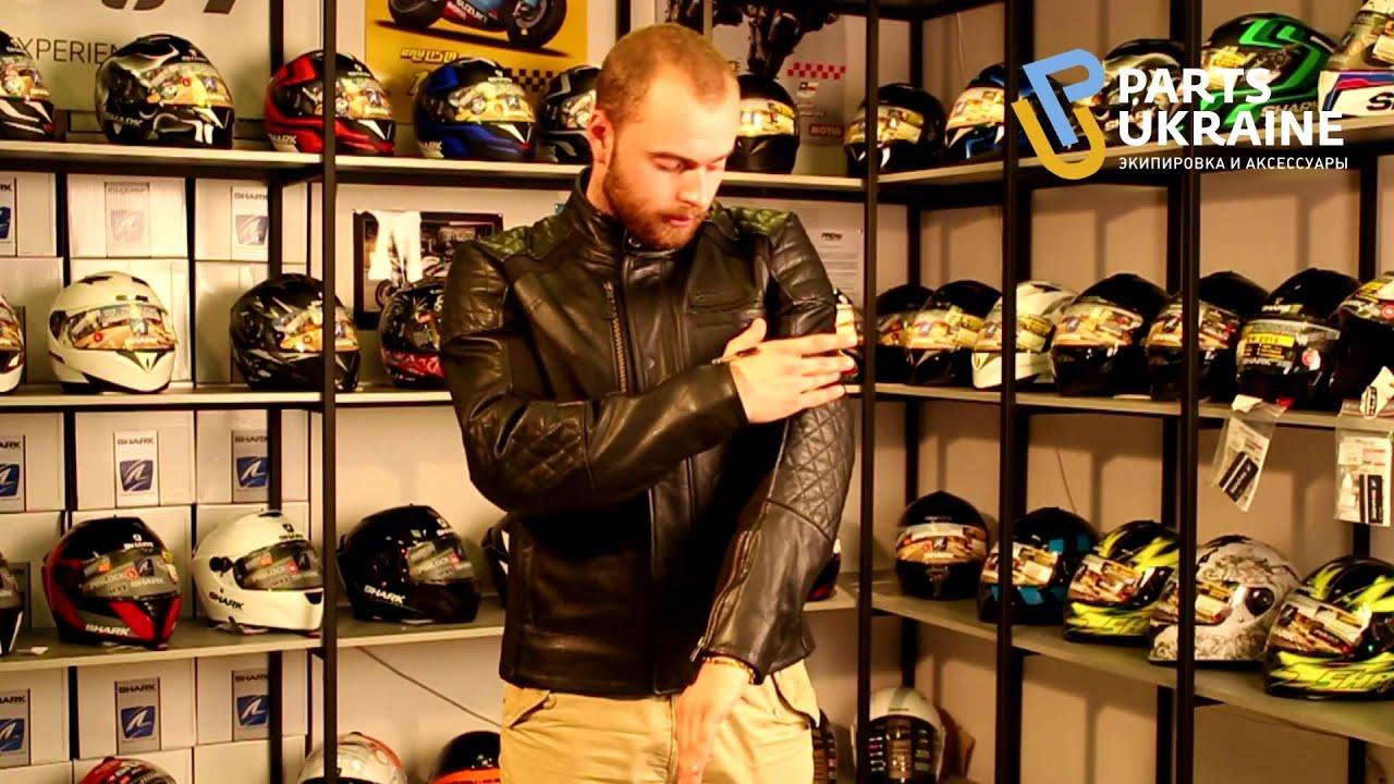 Alpinestars Jacket Leather >> Обзор мотокуртки Alpinestars Hoxton - YouTube